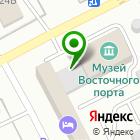 Местоположение компании ВЭД-Сервис