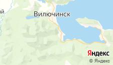 Гостиницы города Вилючинск на карте