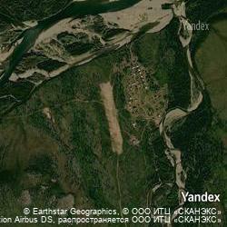 Yandex Maps Satellite view