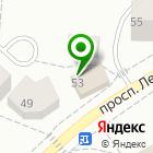 Местоположение компании Магазин хозяйственных товаров на проспекте Ленина