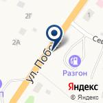 Компания АЗС Разгон на карте