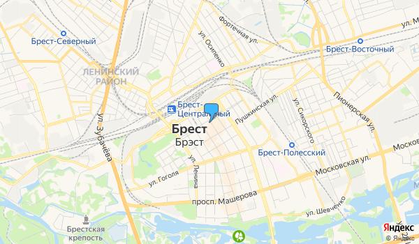 Офис Каляровая вандроўка на карте