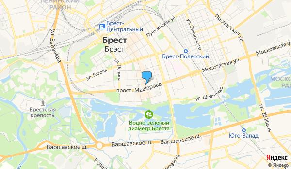 Офис Дримтрэвел на карте