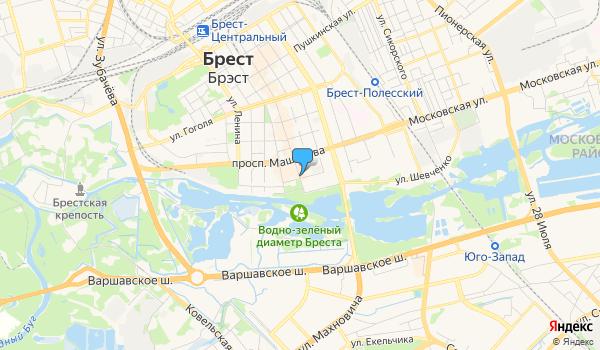 Офис Белорусский калейдоскоп на карте