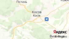 Гостиницы города Косов на карте