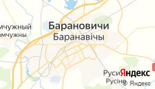 Гостиницы города Барановичи на карте