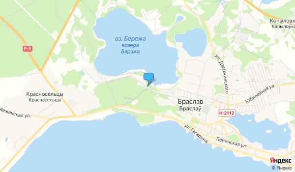 Офис Национальный  парк  «Браславские  озера» на карте