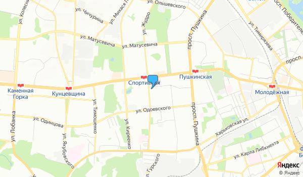 Офис География путешествий на карте
