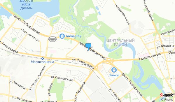 Офис Лэндтур на карте