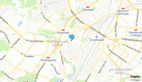 Офис ТурБонжур на карте