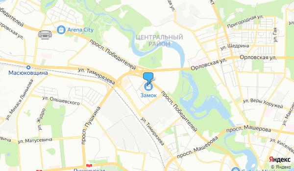 Офис Энивей Трэвел (ТЦ) на карте
