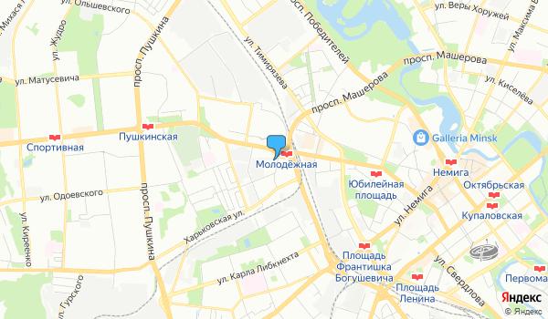 Офис Джанет Турс на карте