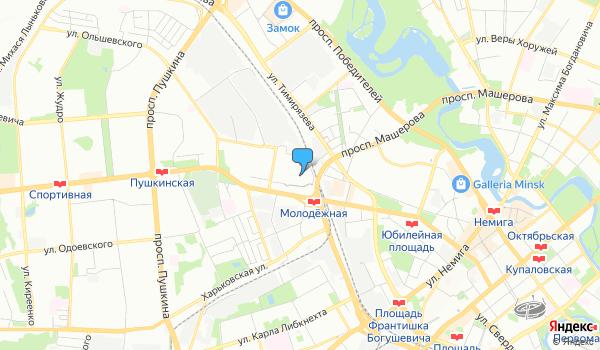 Офис ЛакиТрэвел на карте