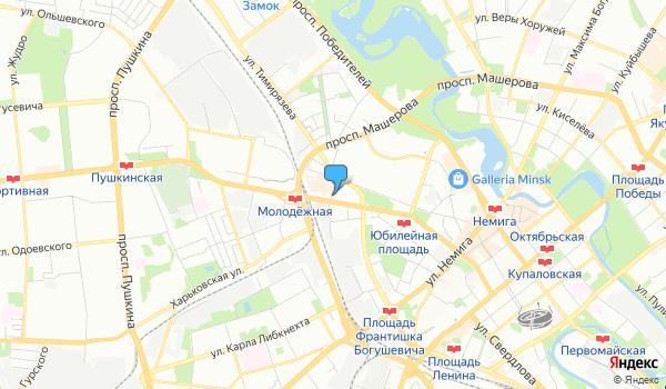 Офис Международный бизнес на карте