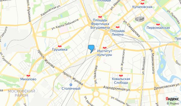 Офис Индустрия путешествий на карте