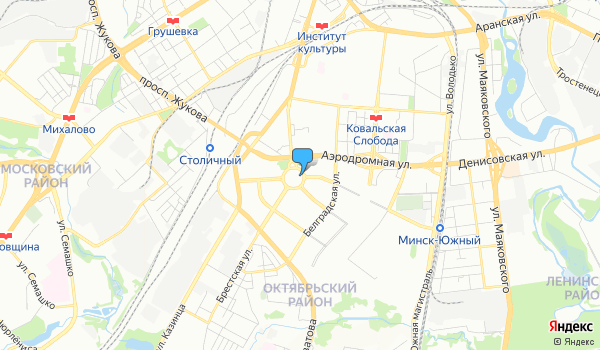 Офис Балтик Тур Беларусь на карте