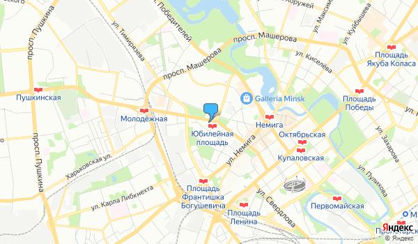 Офис Тамрико Тревел на карте