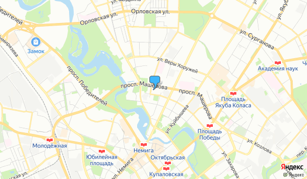 Офис ПрагаТурс на карте