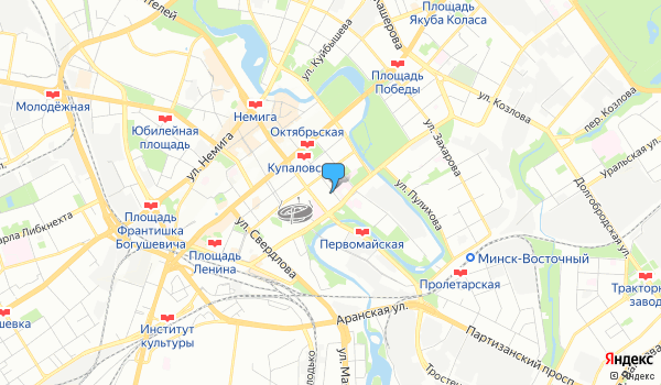 Офис БогемияТрэвел на карте