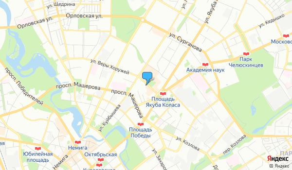Офис Чайка Тревел на карте
