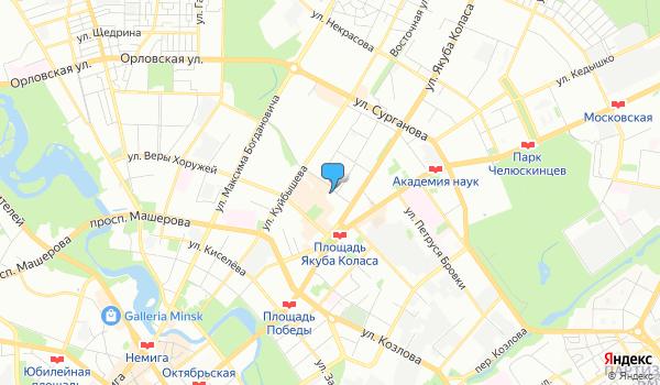 Офис Голд Фокс Трэвел на карте