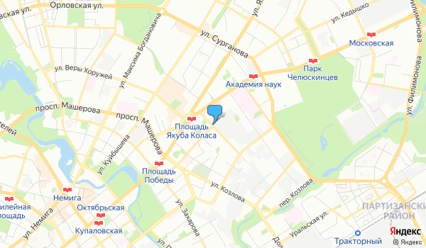 Офис Юниверс-Трэвэл на карте