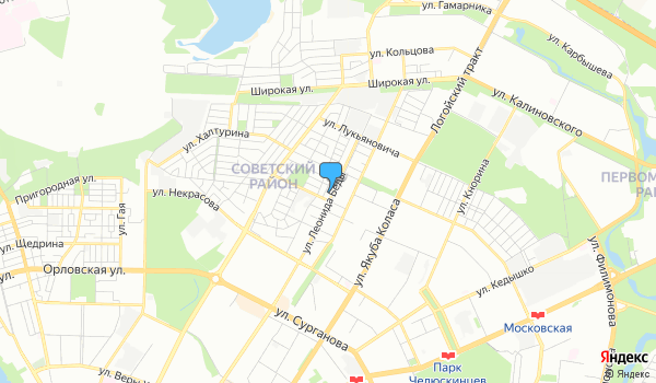 Офис БелСлавГарант на карте