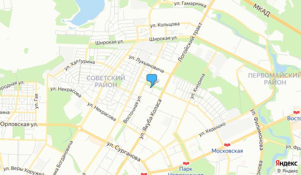 Офис БелДАВ Клуб на карте