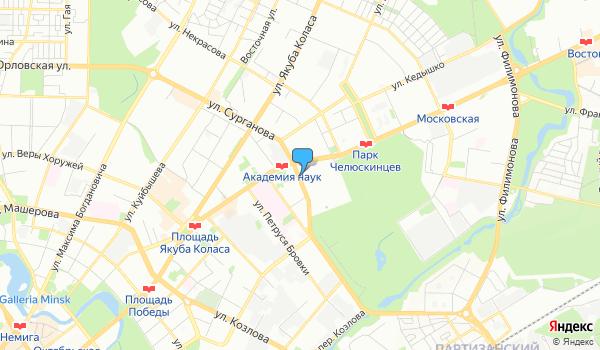 Офис Пломбир тревел на карте