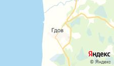 Гостиницы города Гдов на карте