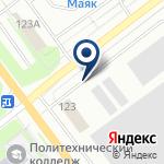 Компания Псковпассажиравтотранс, ПО на карте