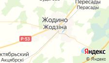 Гостиницы города Жодино на карте