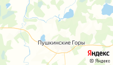 Гостиницы города Луговка на карте
