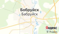 Гостиницы города Бобруйск на карте