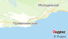 Гостиницы города Смолячково на карте