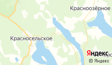 Гостиницы города Правдино на карте