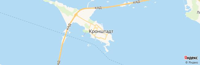 Кронштадт на карте