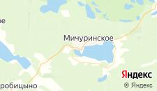Гостиницы города Мичуринское на карте