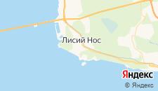 Гостиницы города Лисий Нос на карте