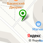 Местоположение компании ТОНУС-КЛУБ