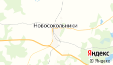 Гостиницы города Новосокольники на карте