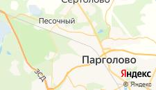 Гостиницы города Левашово на карте