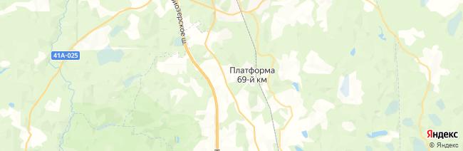 Игора на карте