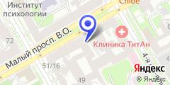 Схема проезда до компании Салон причесок в Санкт-Петербурге