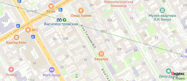 Анализы на станции метро Василеостровская в Lab4U