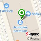 Местоположение компании ФитнесДом