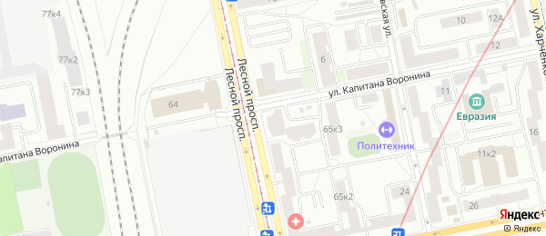 Анализы на станции метро Лесная в Lab4U