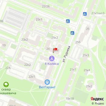 Карта СанктПетербурга