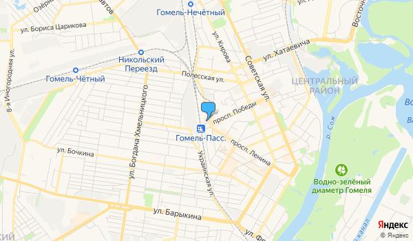 Офис Белэкспресс Бай на карте