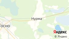 Гостиницы города Нурма на карте